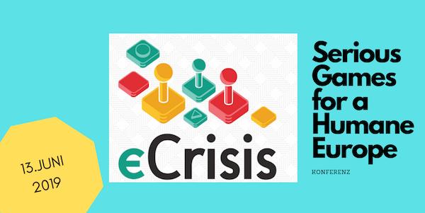 Bild: Logo eCrisis/Grafik bearbeitet von Virtuelle PH