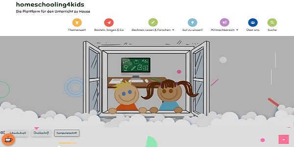 Bild: Screenshot homeschooling4kids.at
