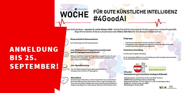 Bild: Detail Flyer CodeWeek/TU Wien Informatics, bearbeitet Virtuelle PH